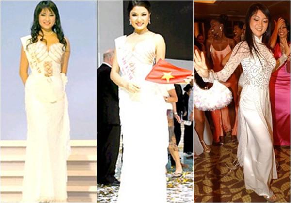 Nhờ gương mặt cùng thần thái đẹp, Nguyễn Thị Huyền lọt vào top 15 Miss World 2004. Khi nghe xướng danh lọt vào top 15 người đẹp nhất thế giới, tôi đứng cả tim, bước ra mà cứ ngỡ như mình đang mơ, Nguyễn Thị Huyền chia sẻ.