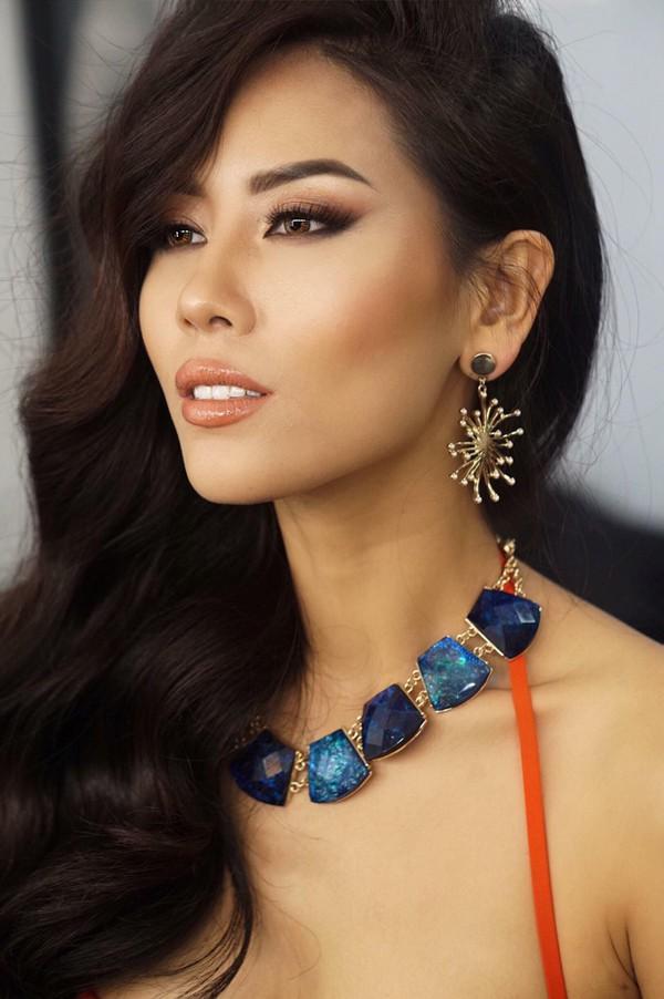 Nhan sắc Nguyễn Thị Loan được đánh giá cao tại Miss Universe 2017.