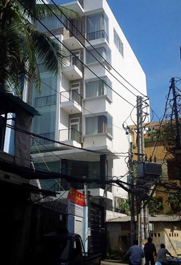 Ngôi nhà được cho là tài sản của gia đình Phan Hiển.