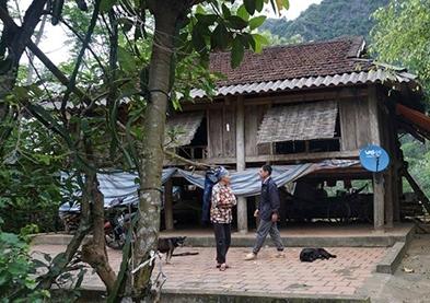 Ngôi nhà của gia đình em P.T.V.T ở xã Thúy Sơn, Ngọc lặc,