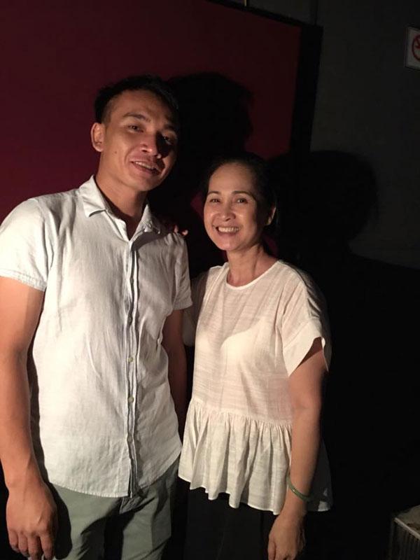 NSND Lan Hương nhận được sự quan tâm của nhiều đối tượng khán giả.