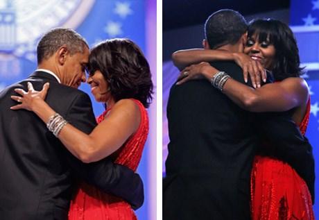 Sau hai nhiệm kỳ Tổng thống, câu chuyện tình yêu của ông bà Obama vẫn khiến người Mỹ phát sốt, bởi cách ông Obama thể hiện tình yêu với vợ.
