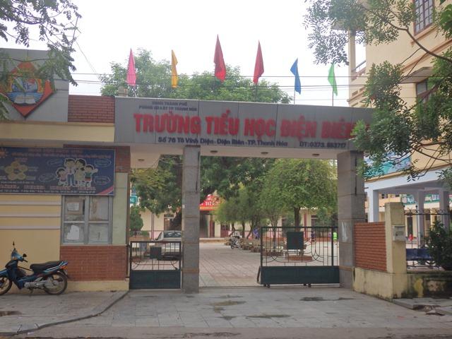 Trường Tiểu học Điện Biên 2 có 31 lớp với gần 1.300 học sinh, đa số trẻ đều ăn bán trú tại trường.