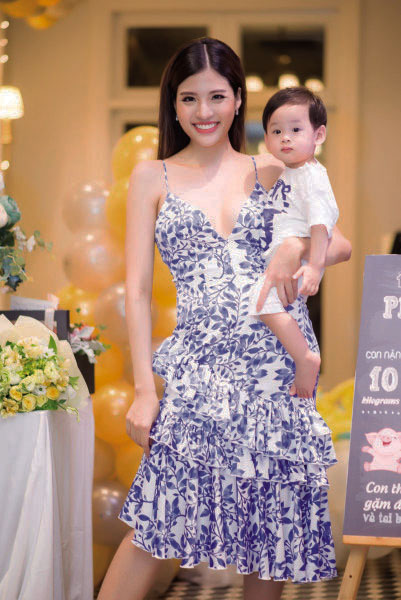 """Hoa hậu Phan Hoàng Thu: """"Nếu không có anh bảo vệ, con tôi đã là đứa trẻ mồ côi"""""""