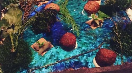 Món ăn mang chủ đề đại dương. Ảnh: Montessoribrooklyn.