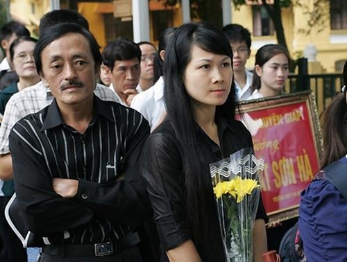 Diễn viên Giang Còi và người vợ thứ hai đã ly hôn được vài năm.