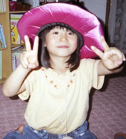 Cô bé Airi Kinoshita, 7 tuổi bị bắt cóc khi từ trường về nhà.