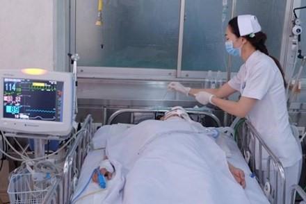 Một nạn nhân tử vong ở Bệnh viện Chợ Rẫy sau khi bị cướp giật xô ngã. Ảnh: Q.N.