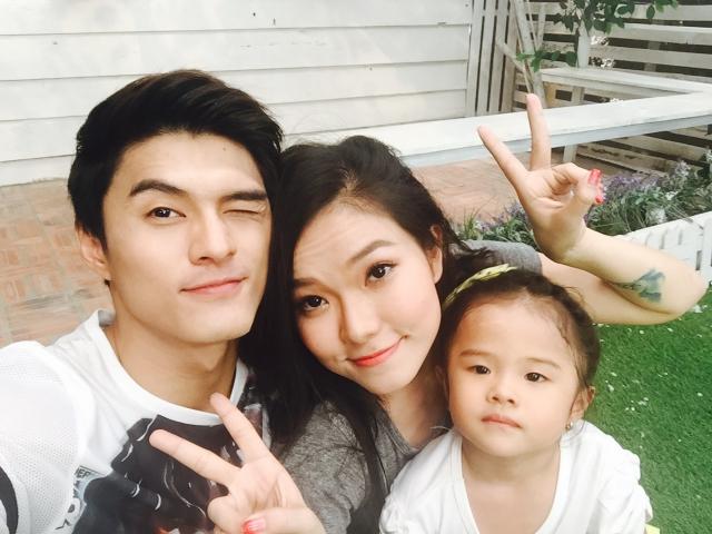 Gia đình hạnh phúc trước khi tan vỡ của Lý Phương Châu và Lâm Vinh Hải.