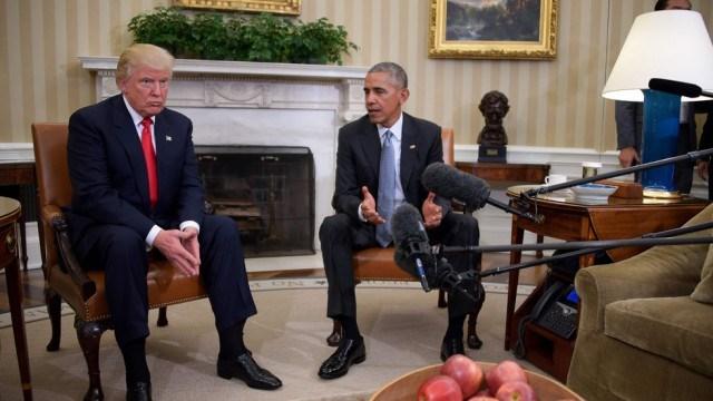Tin tức giả mạo nói ông Obama âm mưu đảo chính ông Trump được lan truyền chóng mặt (Nguồn: Getty)
