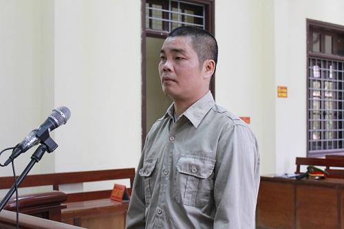 Bị cáo Ngô Văn Đối tại phiên xử sơ thẩm. Ảnh: Hồng Vân