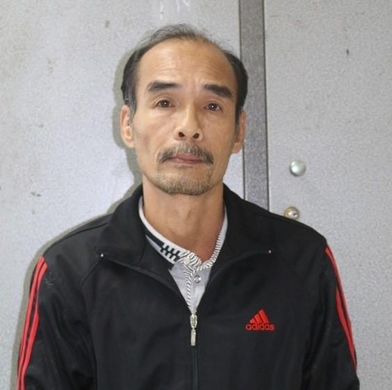 Nguyễn Phong Lục tại cơ quan điều tra. Ảnh: Công an cung cấp.