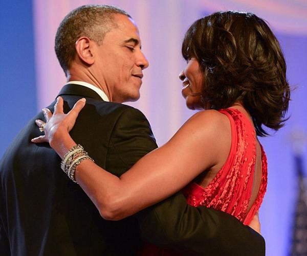 Vợ chồng cựu tổng thống Mỹ Barack Obama. Ảnh: WireImage