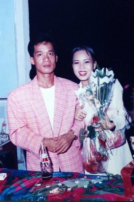Thầy trò Minh Nhí - Việt Hương cách đây nhiều năm.
