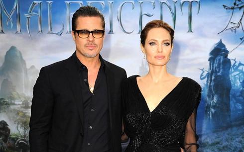 Angelina Jolie và Brad Pitt thuở còn mặn nồng.