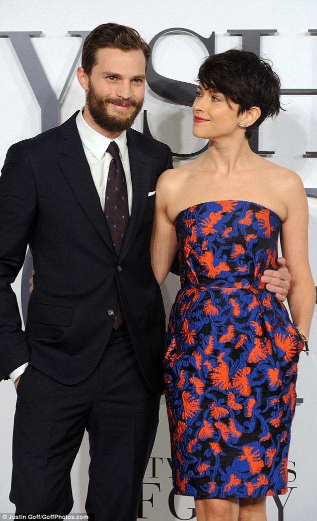 Jamie Dornan và vợ - Amelia Warner