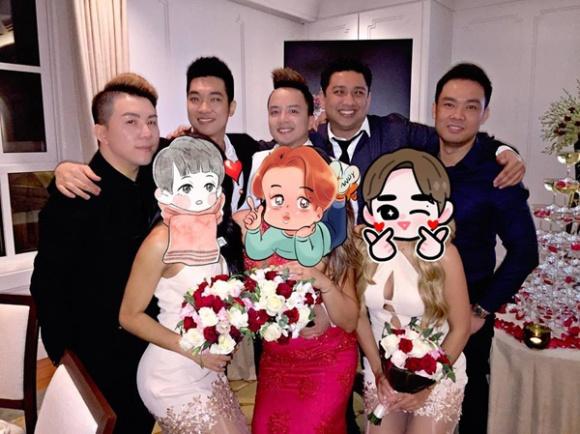 Bạn bè của Cao Thái Sơn đã có mặt tại Úc để dự đám cưới.