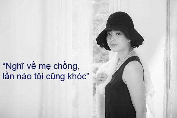 Diễn viên Chiều Xuân khóc khi kể chuyện sống chung với mẹ chồng