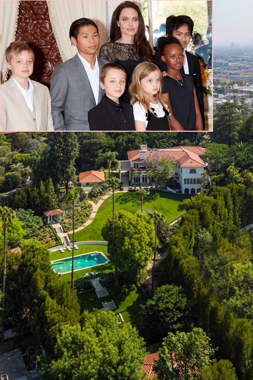 Theo E!News, Angelina Jolie vừa chi ra 25 triệu USD (568 tỷ đồng) để mua biệt thự ở Los Angeles làm nơi ở mới. Bà Smith ưng ngôi nhà ngay từ lần đầu tới xem nhưng vì giá hơi cao nên cô đã mất một thời gian dài cân nhắc trước khi chính thức ký hợp đồng.