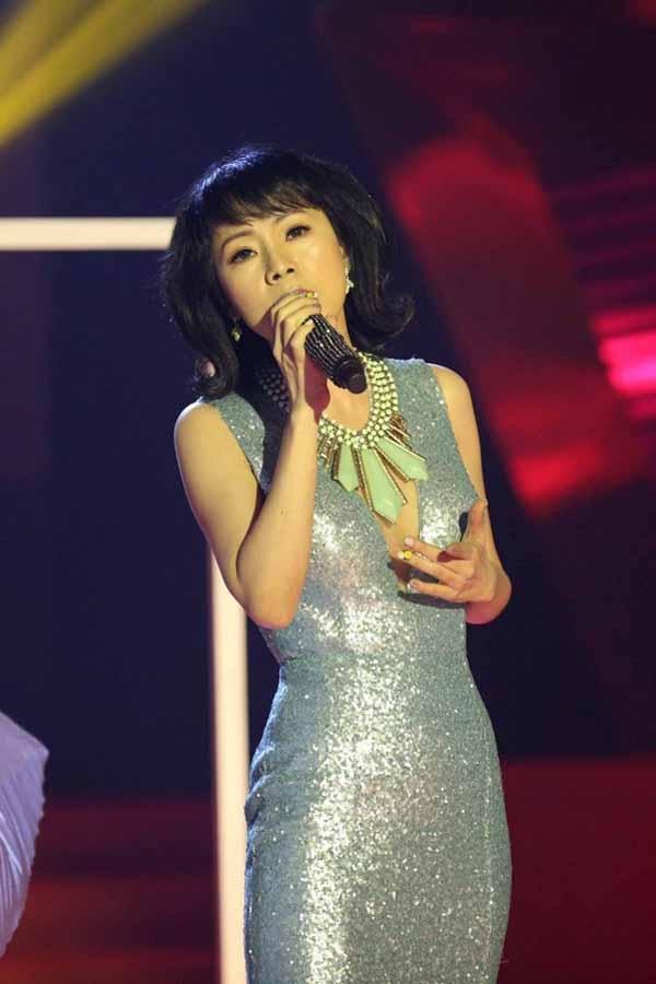 Ca sĩ Yến Xuân.