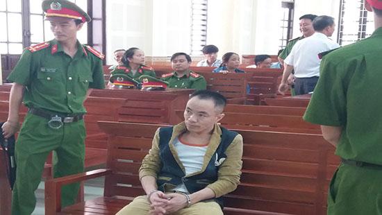Bị cáo Nam tại phiên toà