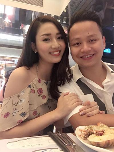 Ngô Trà My và ông xã - doanh nhân Lê Hoàn.