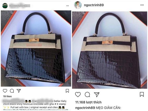 Cộng đồng phát hiện ra sự giống nhau giữa 2 chiếc túi về địa điểm, phông nền chụp.