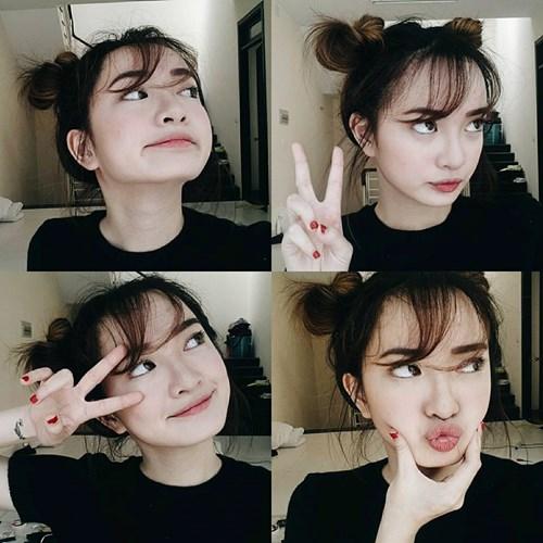 Kaity Nguyễn nổi tiếng nhờ khả năng dạy make up trên mạng xã hội