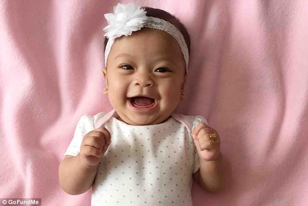 Cô bé Kamiko Dao Tsuda-Saelee.