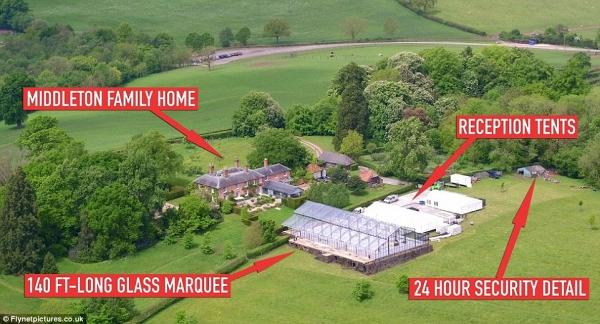 Đám cưới của em gái Công nương Kate Middleton - Pippa Middleton cùng bạn trai đại gia James Matthews sẽ được tổ chức trong khuôn viên biệt thự của gia đình Middleton tại Berkshire, Anh Quốc vào ngày 20/5 tới đây.