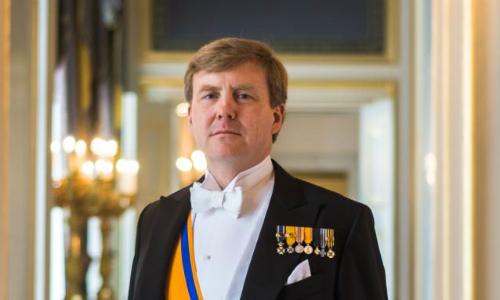 Vua Hà Lan Willem-Alexander. Ảnh: Esrasmus