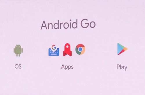 Sự khác biệt của Android Go đến từ hệ thống, phần mềm và kho ứng dụng.