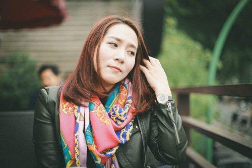 Diễn viên Thu Huyền cho rằng mình có câu chuyện ly hôn kì lạ không giống ai.