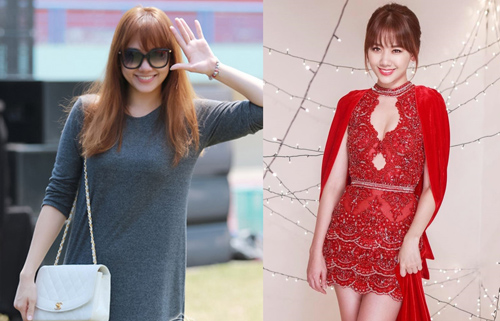 Nữ ca sĩ Hàn Quốc tự tin mặc đồ khoe dáng hơn so với gu ăn mặc đơn giản trước kia