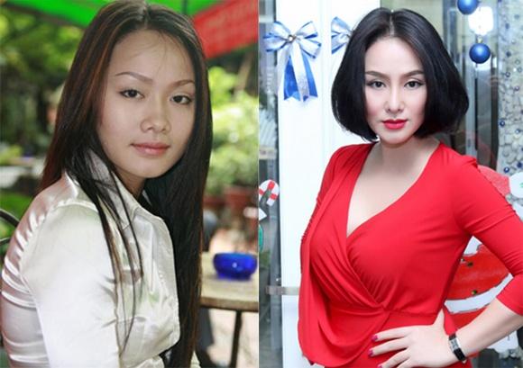 Mỹ nhân Việt - Thu Phượng xuất hiện với diện mạo mới sau khi sửa mũi