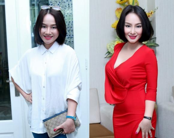 Chiếc mũi đúng mốt khiến gương mặt của vợ cũ Thành Trung trở nên thanh thoát và xinh đẹp hơn