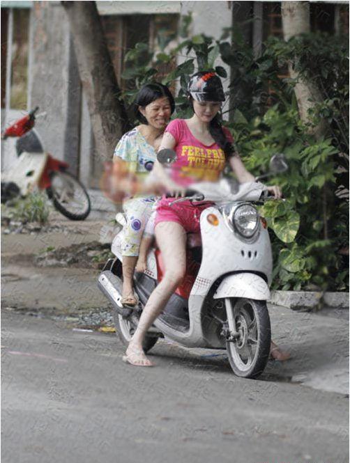 Có thể thấy, Ngọc Trinh là một trong số ít những sao Việt vẫn giữ được nét chân quê khi đã nổi tiếng.