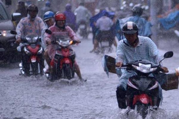 Nam Bộ hôm nay tiếp tục có mưa vừa, mưa to. Ảnh: Tuấn Kiệt