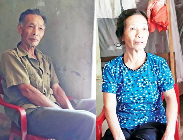 Ông Nguyễn Văn Cường và bà Nguyễn Thị Tuyết kể về nỗi bất hạnh của cô con gái khiếm thị