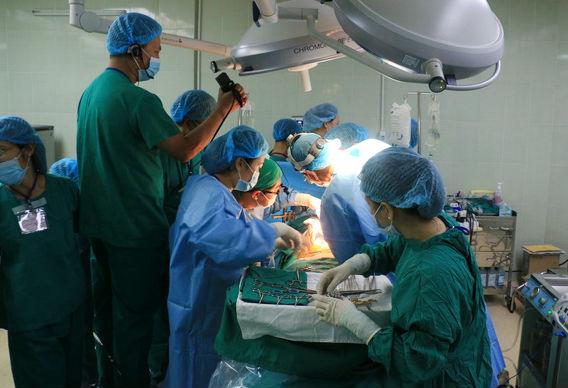Ca ghép gan tại Bệnh viện Chợ Rẫy