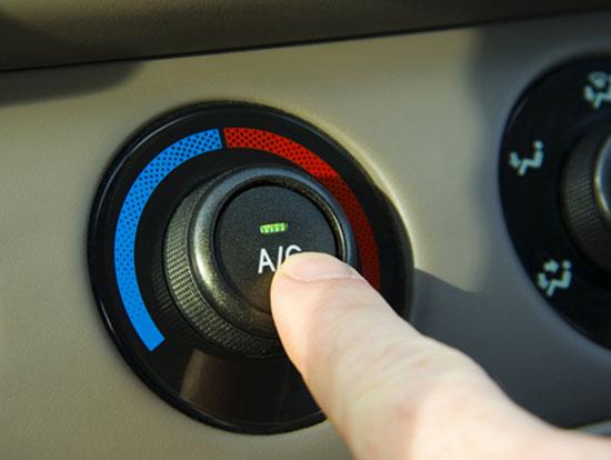 Sử dụng hiệu quả hệ thống điều hòa nhiệt độ trên ô tô