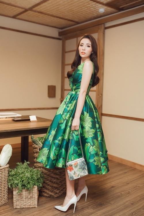 Hoa hậu Kỳ Duyên xinh đẹp và gợi cảm ở trong sự kiện gần nhất.