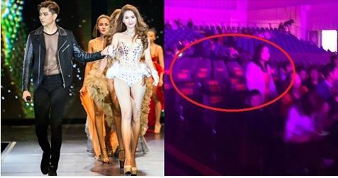 Đầu tư hơn 15 tỷ đồng nhưng sân khấu của Đêm hội chân dài 11 vẫn vắng khán giả.