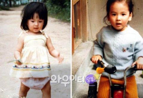 Ngắm ảnh thời răng sún của Song Hye Kyo, Song Joong Ki được fan 'đào bới'