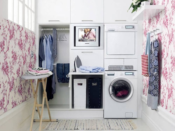 Đặt máy giặt nơi bằng phẳng và khô thoáng, tuyệt đối không được đặt máy giặt nơi ẩm ướt