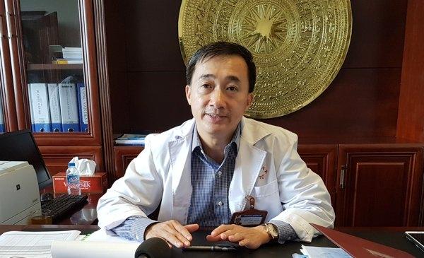 Giám đốc BV K Trần Văn Thuấn. Ảnh: T.Hạnh