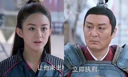 Lưu Sóc trong Sở Kiều truyện luôn đối đầu với nữ chính.