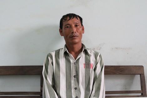 Phạm nhân Nguyễn Bá Tiến.