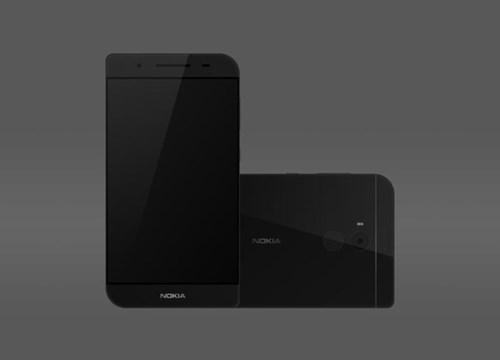 Logo Nokia được đặt nổi bật ở cả mặt trước và sau. Ảnh: Behance.