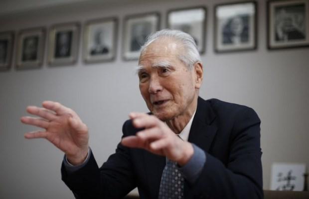 Cựu Thủ tướng Nhật nhiệm kỳ thứ 81, ông Tomiichi Murayama.